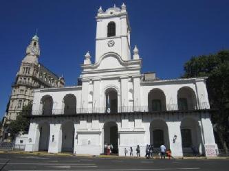 CITYTOUR IN BUENOS AIRES EL CABILDO DE BUENOS AIRES EN PLAZA DE MAYO City tours in Buenos Aires