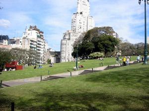 CITY TOURS EN BUENOS AIRES PLAZA SAN MARTIN City tours in Buenos Aires